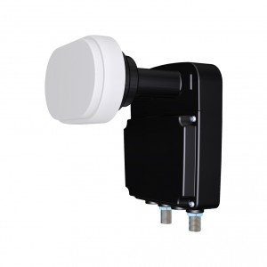 Twin Inverto Black Mono (Monoblock 23mm LNB ,3° for 80cm dish)