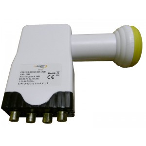 Quad Golden Media Circular LNB GM-104S
