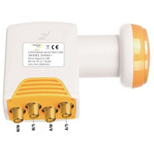 LNB GOLDEN MEDIA HIGH GAIN QUATTRO 204 MS+