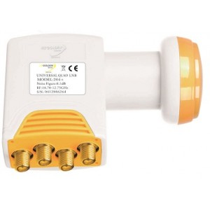 LNB GOLDEN MEDIA HIGH GAIN QUAD 204+