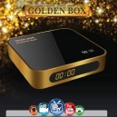 Redline GOLDEN BOX PLUS H.265 HEVC HD - сателитен / IPTV приемник